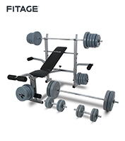 Equipo Fitnes Fitage Kit Fitage Box 6