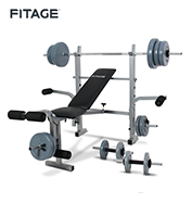 Equipo Fitnes Fitage Kit Fitage Set 4