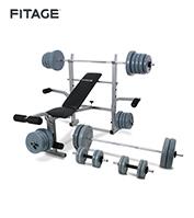 Equipo Fitnes Fitage Kit Fitage Set 6